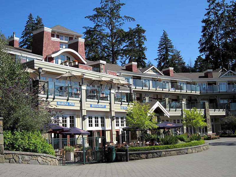 Poets Cove Resort and Spa; photo by David Stanley via Wikimedia Commons