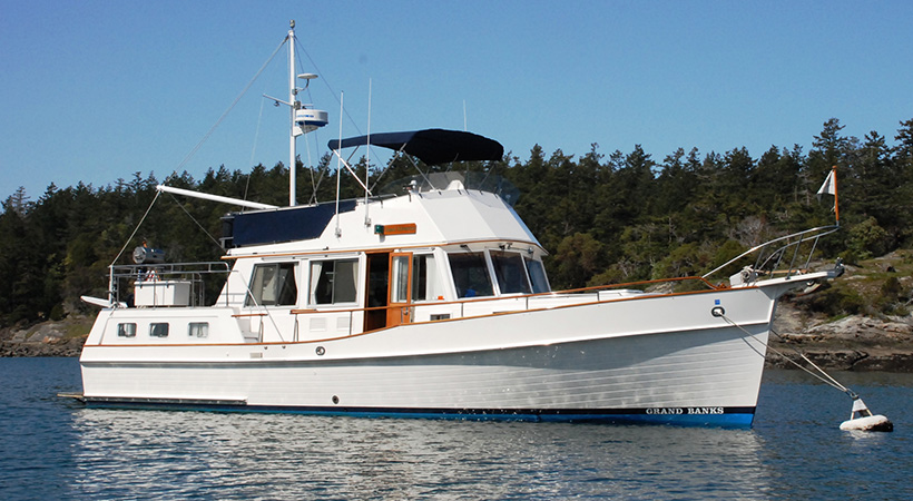 1191 - 42' Grand Banks Motoryacht For Sale | NW Explorations