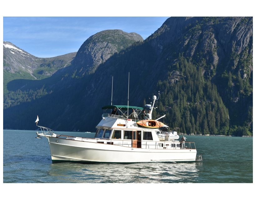 Mother Goose 2019: Leg 4: Day 5: Tracy Arm Cove to Taku